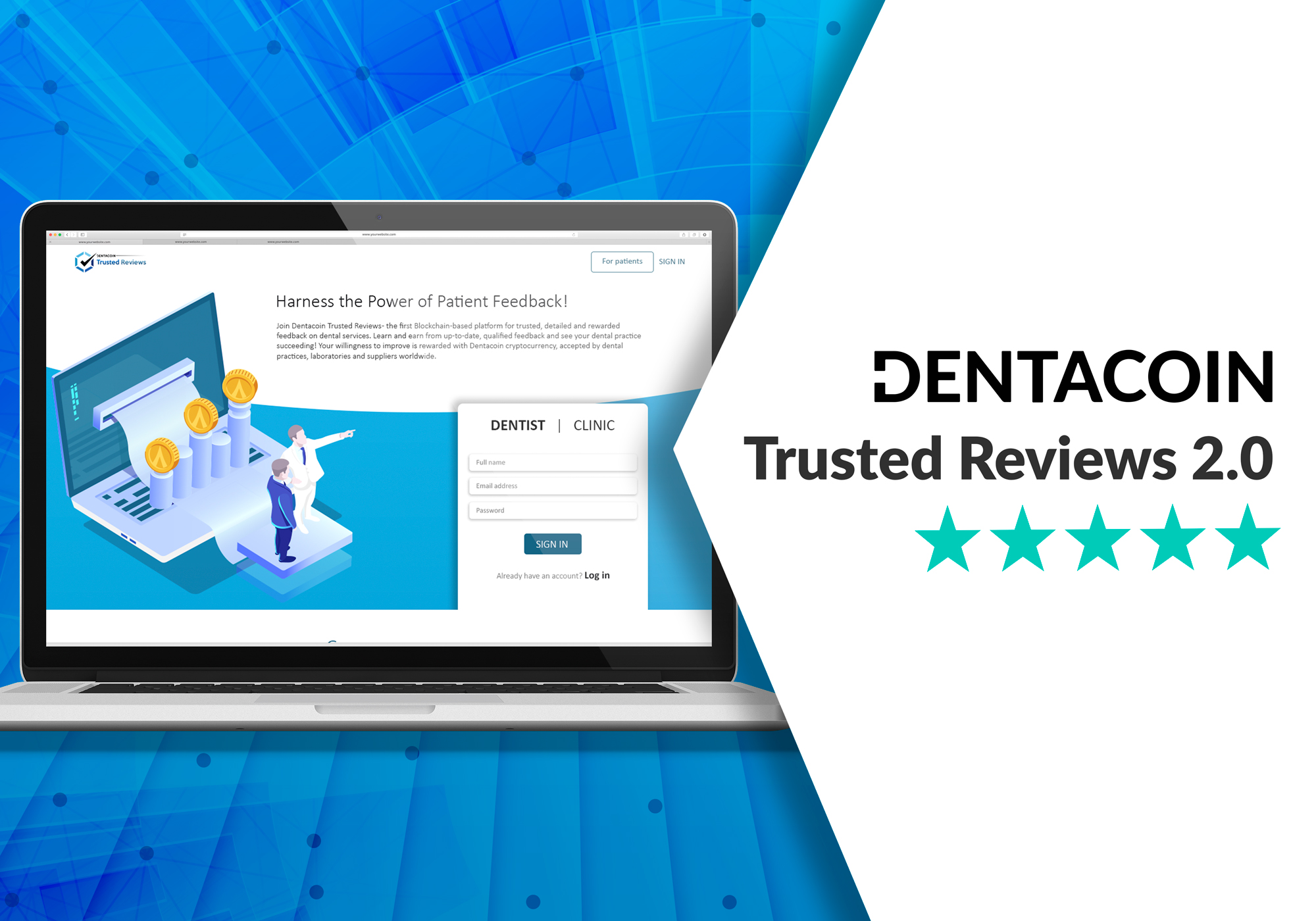 Dentacoin trusted reviews