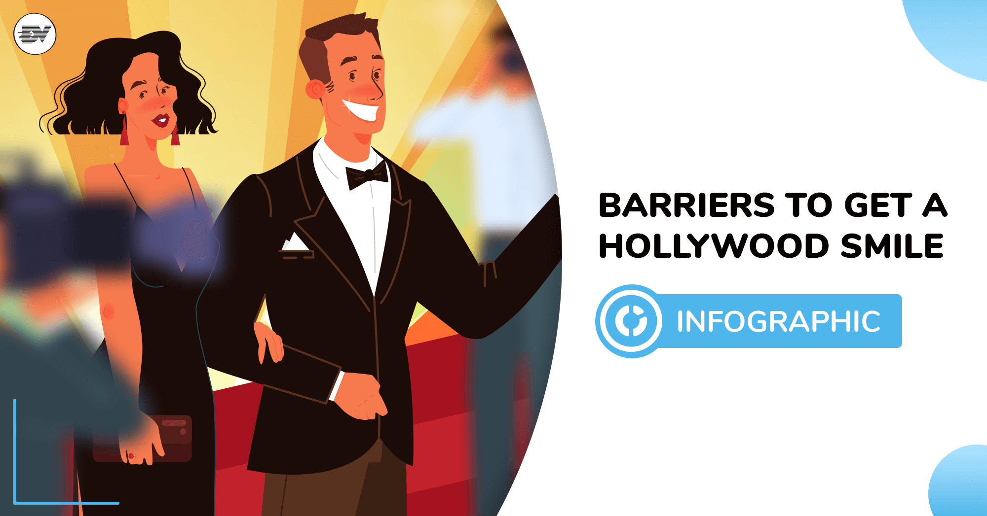 Hollywood smile infographic soc