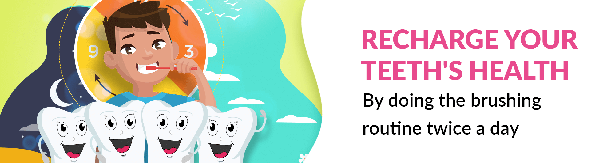 Recharge your teeth mail